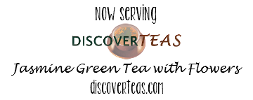 Pho 83 now serving Discover Teas jasmine green with flowers!